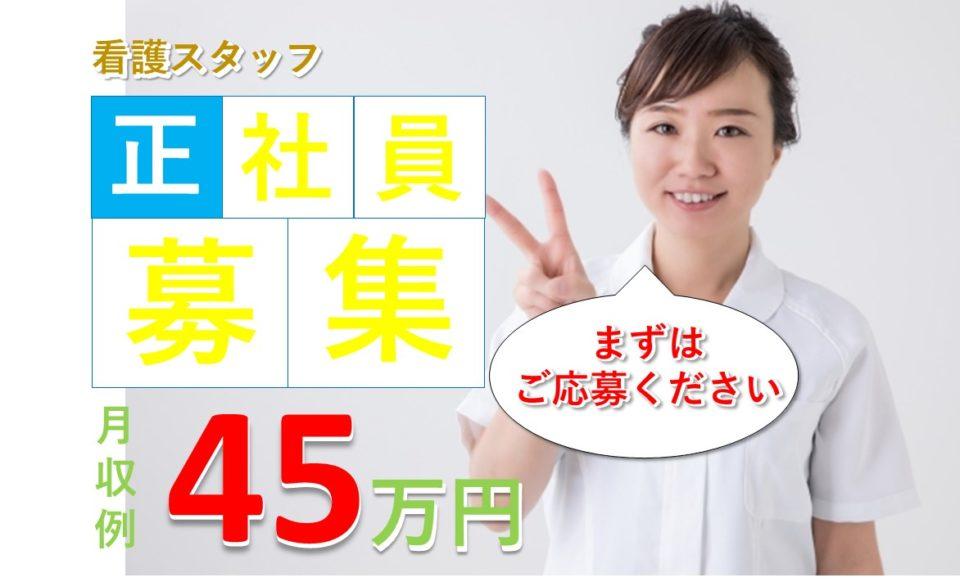 看護師│病院│高収入│月収28万以上│45万円可【求人ID:3880-ns-f-ns-nas】