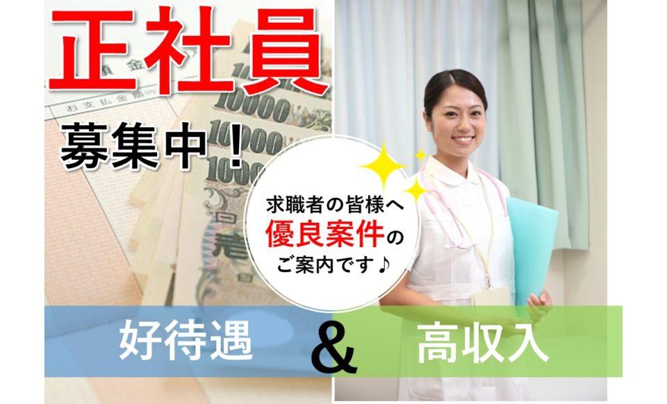 正看護師│住宅型有料老人ホーム│高収入│月収33万円【求人ID:15520-ns-f-ns-nas】