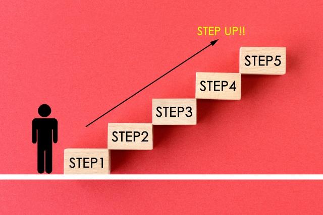 具体的な個人目標でステップアップ